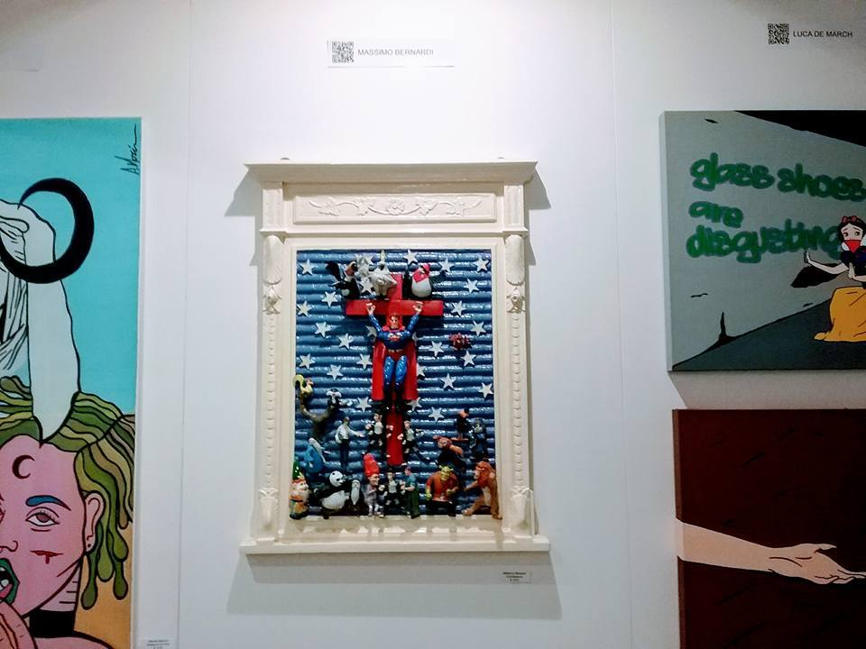 Il melograno art gallery ad affordable art fair milano for Ross craft show 2017