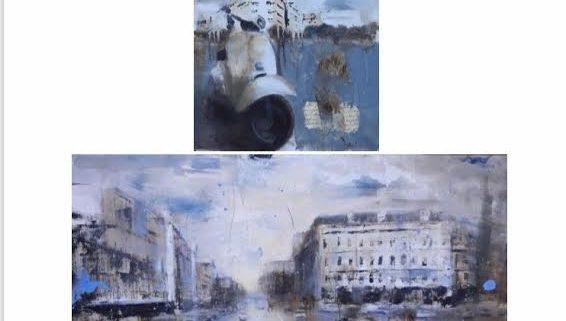 Alfredo Pini espone in Costa Azzurra galleria Ad Hoc Tourrettes sur Loup
