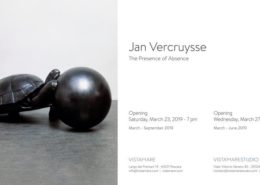 Jan Vercruysse in mostra presso Vistamare a Pescara e Vistamarestudio a Milano