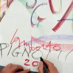 Lamberto Pignotti - Controverso Arte per fraintenditori - Galleria CONTACT - Roma