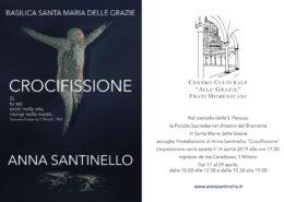 Anna Santinello Crocifissione Milano Chiostro del Bramante
