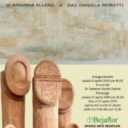 Daniela Daz Moretti e Arianna Ellero mostra Portogruaro Spazio Arte Bejaflor