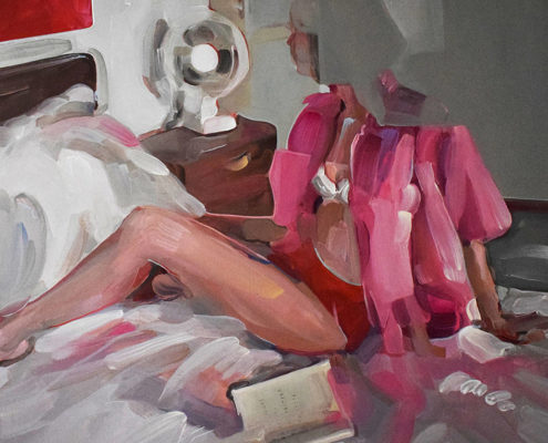 Evita Andújar Reggio Emilia Galleria de' Bonis