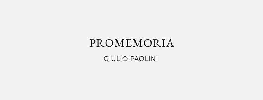 Giulio Paolini - Noire Gallery - Torino
