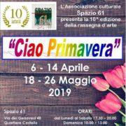Mostra a Cagliari Spazio 61 ciao Primavera 2019