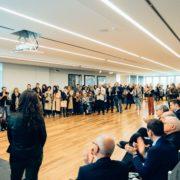 Fondazione Dino Zoli Forlì Inaugurazione della mostra E' qui