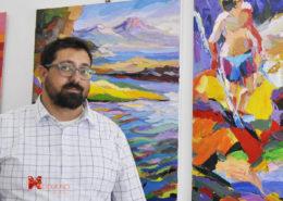 Ciro D'Alessio in mostra a Livorno Il Melograno Art Gallery