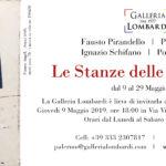 GALLERIA LOMBARDI invito stanze sicilia