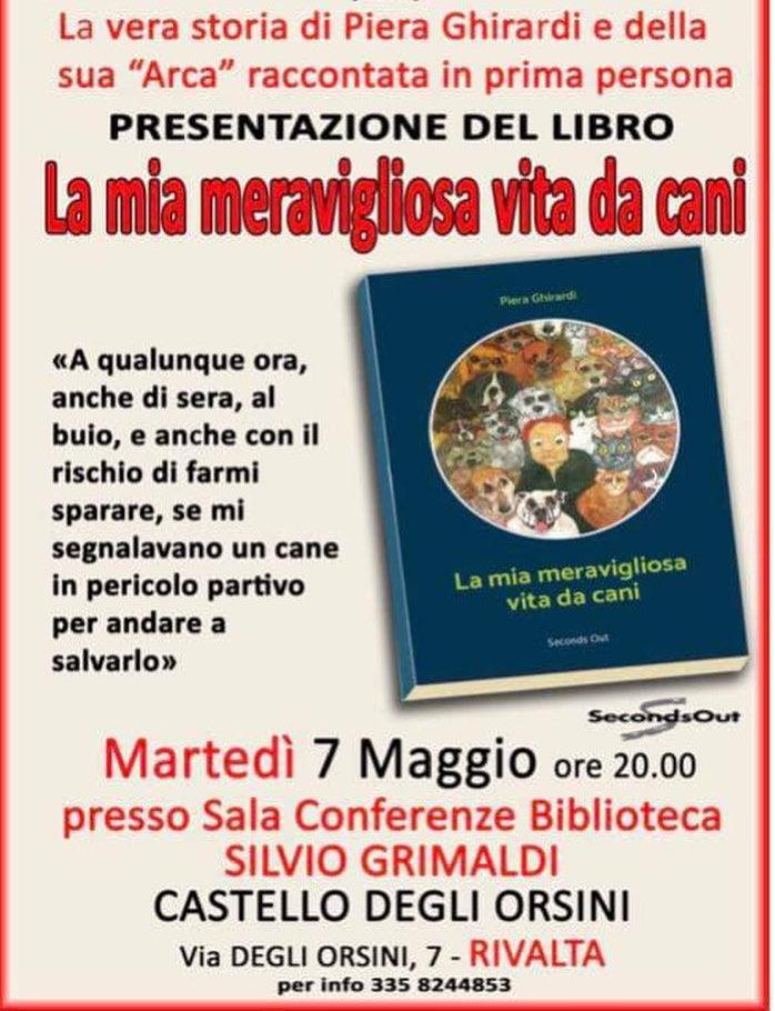 La mia meravigliosa vita da cani libro di Piera Ghirardi Copertina di Carlo Cammarota