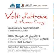 Massimo Giorgi -Volti d_Altrove - Horti Lamiani - Roma