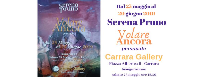 Serena Pruno Volare Ancora Carrara Gallery