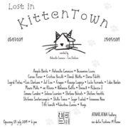 Afnakafna Roma Antonella Caraceni Mostra Lost in kitten town