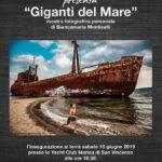Biancamaria Monticelli Mostra Giganti del Mare Yacht Club Marina di San Vincenzo