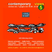 Contemporary Views 5 Subcity Art Gallery Milano
