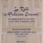 Pierangelo Bertolo La Rete Milano Palazzo Cusani