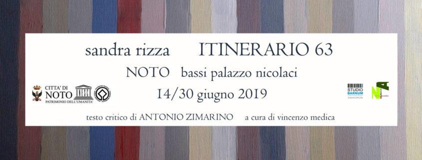 Sandra Rizza espone al Palazzo Nicolaci di Noto