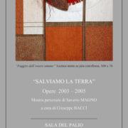 Saverio Magno Mostra Acquaviva Picena 2019 Sala del Palio