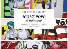 Willy Mazzi Icone popp Art Luxury Gallery Milano