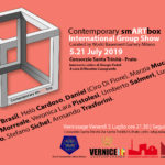 Contemporary smARTbox World Basement Gallery di Milano Alessandra Bisi Massimo Casagrande Giorgio Fedeli