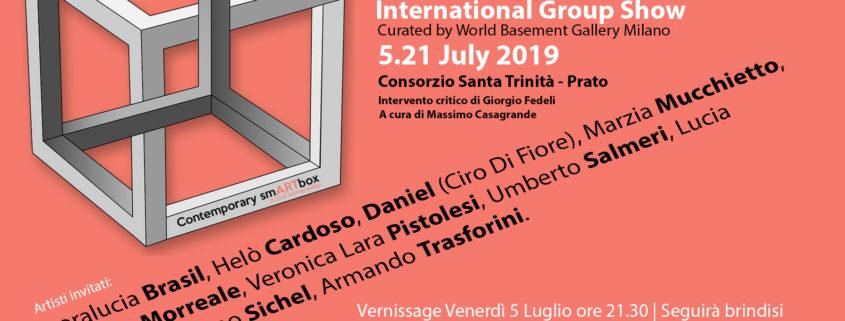 Contemporary smARTbox World Basement Gallery di Milano Alessandra Bisi Massimo Casagrande Giorgio Fedeli