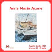 Anna Maria Acone Serate Arte il Melograno Livorno