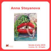 Anna Stoyanova Serate Arte il Melograno Livorno