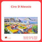 Ciro D'Alessio Serate Arte il Melograno Livorno
