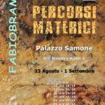 Fabio Brambilla mostra Cuneo Palazzo Samone 2019