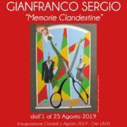 Gianfranco Sergio Mostra Manni Art Gallery Lido di Venezia