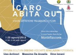 Icaro abita qui mostra ex carceri papaline di Rocca dei Papi Montefiascone