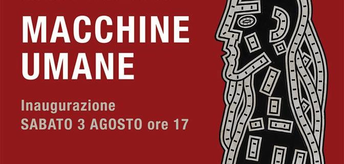 MArco Catellani Mostra Macchine umane a Montefalco