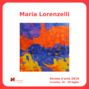 Maria Lorenzelli Serate Arte il Melograno Livorno