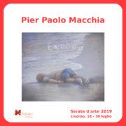 Pier Paolo Macchia Serate Arte il Melograno Livorno