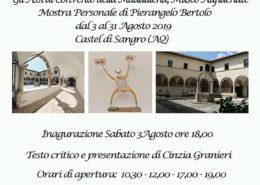 Pierangelo Bertolo Convento della Maddalena Castel di Sangro