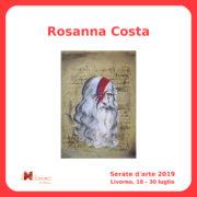 Rosanna Costa Serate Arte il Melograno Livorno