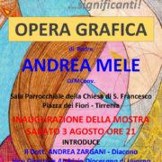 Andrea Mele Opera grafica in mostra a Tirrenia