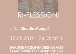 Claudia Mangeli Mostra Ri Flessioni a Riva del Garda 2019