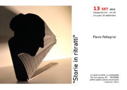 Flavio Pellegrini mostra 2019 Studio La Darsena Modena