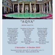 Galleria Turelli mostra Aqua Montecatini Terme