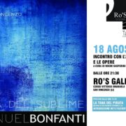 Manuel Bonfanti - SERATA 'RO'S GALLERY' - SAN VINCENZO
