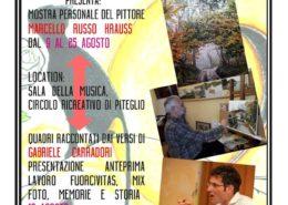 Marcello Russo Krauss in mostra a Piteglio