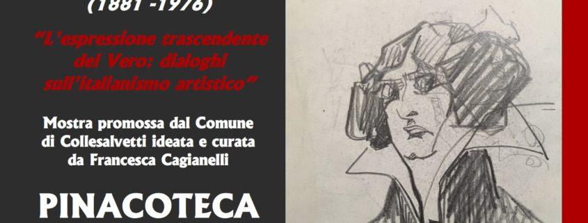 Mostra Ottorino Razzauti pinacoteca Servolini Collesalvetti