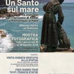 la statua di San Francesco d'Assisi a Monterosso al Mare