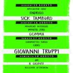 Tre Gotti al Campino Trequanda ferragosto 2019