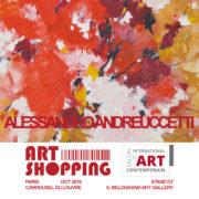 Alessandro Andreuccetti Art Shopping Paris 2019 Il Melograno