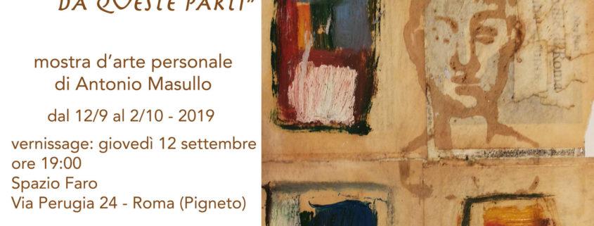 Antonio Masullo Spazio Faro Roma