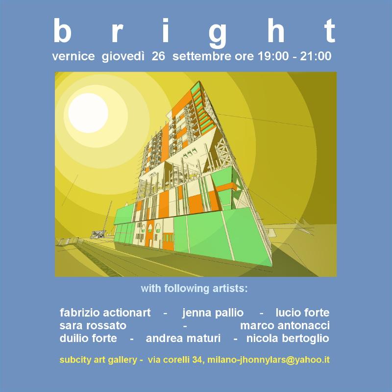 Bright Subcity Art Gallery Milano