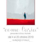 """Enzo Archetti - """"Come l'aria"""" - Quinzano d'Oglio"""