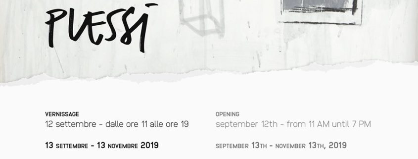 Fabrizio Plessi - Menhir Arte Contemporanea - Milano