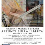 Gianni Maria Tessari - Appunti sulla Libertà - Fuori e Dentro - Torino